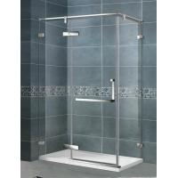 Swing Hinge Mirror Color Shower Enclosures 90 Degree Magnetic Seal Clear Tempered Glass Manufactures