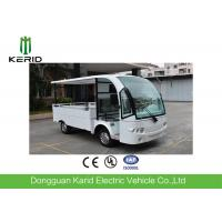 Buy cheap Battery Powered Utility Cart Electric Cargo Van With 1000kg Payload Easy Operate from wholesalers