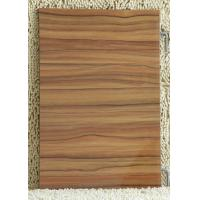 Black Walnut Plain / Colorful 18mm melamine faced mdf board For Indoor Furniture Manufactures