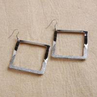 Shining Silver Fashion Earrings, Meet All European Safety Requirements Manufactures