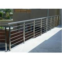 China rod pipe railing Stainless steel pipe fittings primahousing stair railing on sale