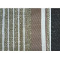 China Woven Linen PlainCurtainFabric Yarn Dyed With Anti-Static on sale