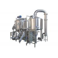 High Precision 2 Vessel Brewhouse 500L Steam Heating SS304 Material Manufactures