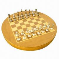 Deluxe Premium Edition Metal Chess Set and Wooden Storage Chess Set Manufactures