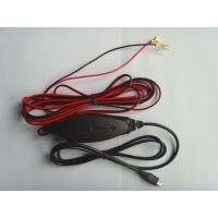 24V Portable Mobile Phone Car Charger 1A Red Color For Long Distance Driving
