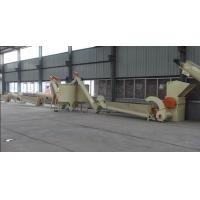 High Speed Washer Plastic Recycling Machinery , PET Plastic Bottle Recycling Plant Manufactures