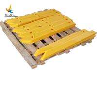 color customized protection wharf high tensile strength 100% recyclable uhmwpe fender pads Manufactures