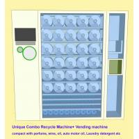 Commercial Combo Vending Machine Recycle Empty Bottles & Sell Perfume , Motor Oil Manufactures