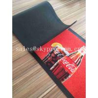 Colorful Molded Rubber Products Home Pub Bar Mat , Personalized Beer Drip Kitchen Rubber Mats Manufactures