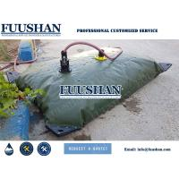 China Fuushan Reusable Customer Sized Flexible Collapsible PVC Water Tank for Irrigation Use on sale