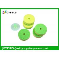 Multicolor Double Sided Kitchen Cleaning Pad With Suction Cup Pack HK0290B Manufactures