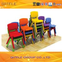 Table Chair Set Toddler , Plastic Chairs And Tables For Kids Manufactures