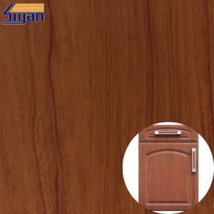 China Vacuum Pressing Furniture Wood Grain Pvc Film Membrane Press on sale