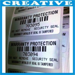 tamper evident security tape void label Manufactures