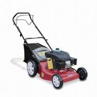 Gasoline Lawn Mower with 16/18/20 Inches Width, Real Discharge and Self-propelled Drive System Manufactures