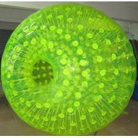 SGS Durable PVC or TPU Inflatable Zorb Ball Have One Entrance or Two Entrances Manufactures