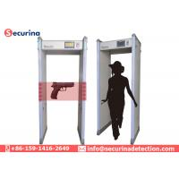 Personal Security Walk Through Security Detector Waterproof For Train Station Airport Manufactures