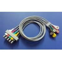 China 8 Pin Philips 5 Lead Ecg Cable , M2406A / M1733a Ecg Trunk Cable 3.6m Length on sale