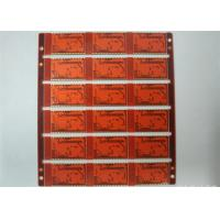 Buy cheap 4L Industrial Printed Circuit Board Red Soldmask White Silkscreen from wholesalers