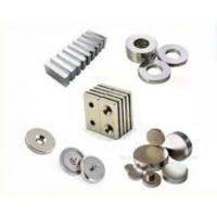 Strong NdFeB Permanent Magnet / Neodymium Button Magnets Customized Sizes Manufactures