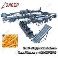 Buy cheap Full Automatic French Fries Making Machine French Fries Production Line from wholesalers