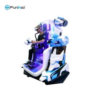 Amusement Park Virtual Reality Motion Simulator , Interactive Virtual Reality Games Manufactures