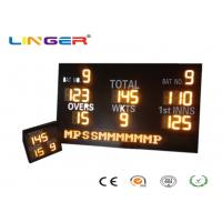 Customized Design LED Cricket Scoreboard With Mini Repeater 1200mm*2000mm*100mm Manufactures