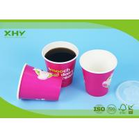 10oz Top dia 90mm Double PE Coated Disposable Paper Cup For Cold Drinks 350ml Manufactures