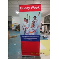 Outdoor Trade Show Display Banners , Tabletop Retractable Banner Water Resistant Print Manufactures