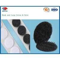 PSA Self Adhesive Hook and Loop Tape , Nylon Hook Loop For Holding Carpets In Place Manufactures