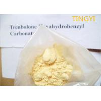 Yellow Crystalline Trenbolone Hexahydrobenzyl Carbonate Powder Injectable CAS 23454-33-3 For Muscle Gain Manufactures