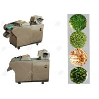 China Fruit And Vegetable Processing Plant Pepper Automatic Cutting Slicing Machine on sale