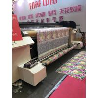 China High Speed Industrial Digital Textile Printer With Waterbased Pigment Ink on sale