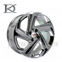 Buy cheap Luxurious Machined Aluminum Wheels 5 Spoke Deep Lip Rims Electroplating Finished from wholesalers