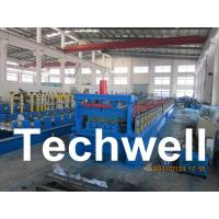 Steel Structure Floor Deck Roll Forming Machine for Roof Deck, Steel Tile TW-FD1250 Manufactures