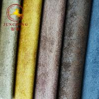 Bronzing holland velvet fabric for lazy boy upholstery sofa fabric Manufactures