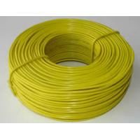 China PVC coated rebar tie wire is ideal for harsh environment on sale