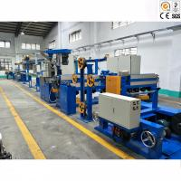 Quality Double Screw Plastic Wire Production Line / Wire And Cable Making Machine for sale
