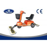 Ride On Driving Dust Cart Scooter Complanate Floor Mopping Machine Blue Color Manufactures