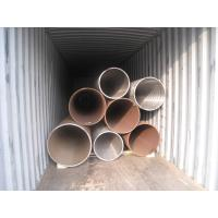 Heat Treated High Pressure Carbon Steel Pipe Seamless Structure ASTM A106 Standard Manufactures