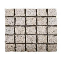 Yellow Natural Paving Stones Cube Custom Surface Finishing 104hsd Hardness Manufactures