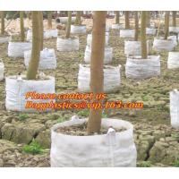 non woven 1gal 2gal 3gal 5gal 7gal 10gal 20gal 30gal White Black PE Plastic Plant Nursery Grow Bag with Drainage Hole Manufactures