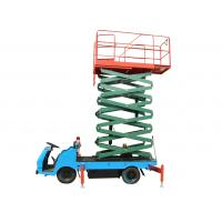 9m Truck Mounted Scissor Lift Battery Operated Aerial Work Platform 500Kg Loading Manufactures