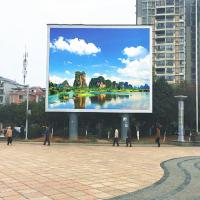 China 120° Viewing Angle Full Color LED Display Board P10 DIP346 Epistar Chip 300-750w on sale