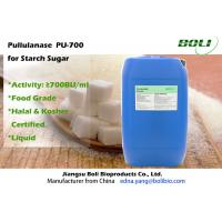 High Efficient Pullulanase For Glucose / Maltose Syrup , 700 BU / ml Bacillus Licheniformis Enzyme Manufactures