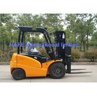Safety Warehouse Lift Truck With 48V/560ah Zapi Controler And 3 Stage Mast Manufactures