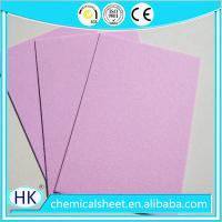 China Paper Insole Board sheets having dimension 36 x 54 inches and a thickness of 2.0mm on sale