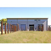 Clear Span Rigid Frame Prefab Steel Structure Building For Animal Barn Manufactures