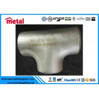 China BW Pipe Fittings Alloy Steel Pipe Equal Tee ASTM B366 Alloy B UNS N10001 on sale