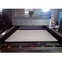 Large Double Layer Pneumatic Automatic Heat Press Machine For Sportswear Manufactures